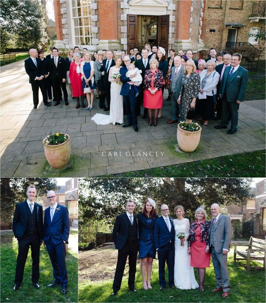Group family photos