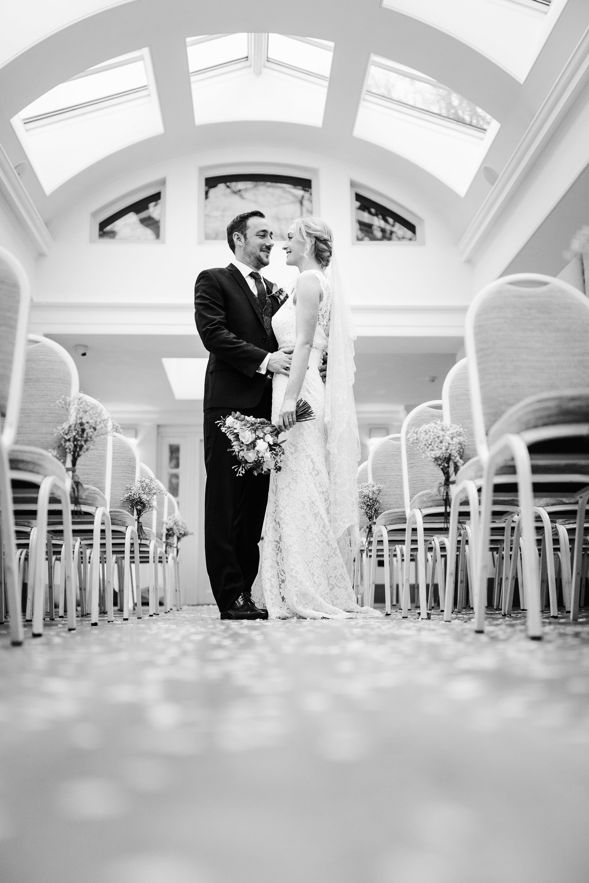 Pembroke Lodge Wedding Photography - Claudia and Danny 32