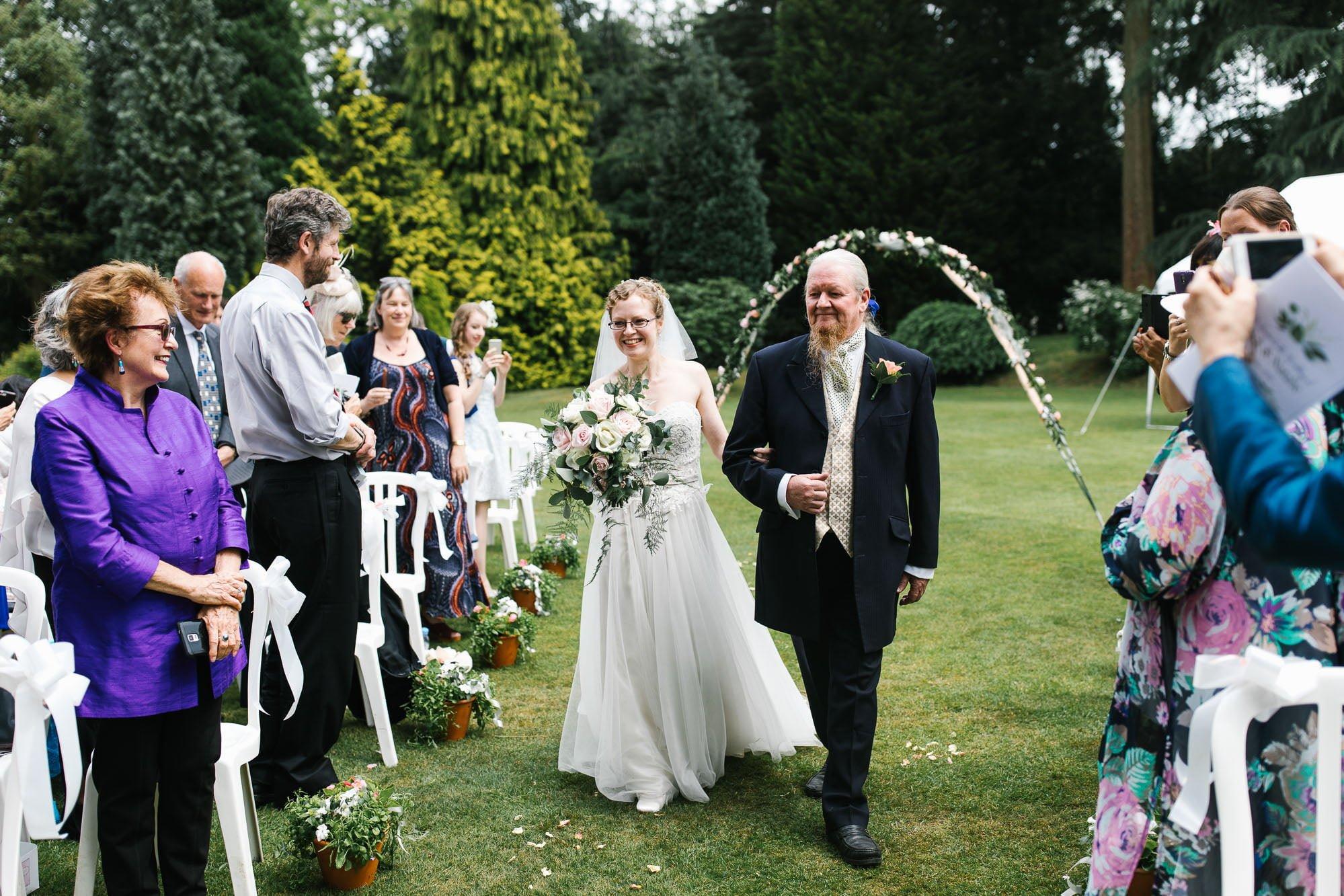 A Surrey Garden Wedding - Natalie and Nick 38