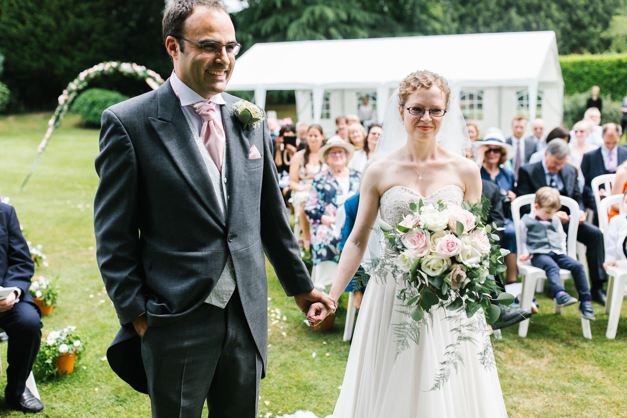 A Surrey Garden Wedding - Natalie and Nick 41