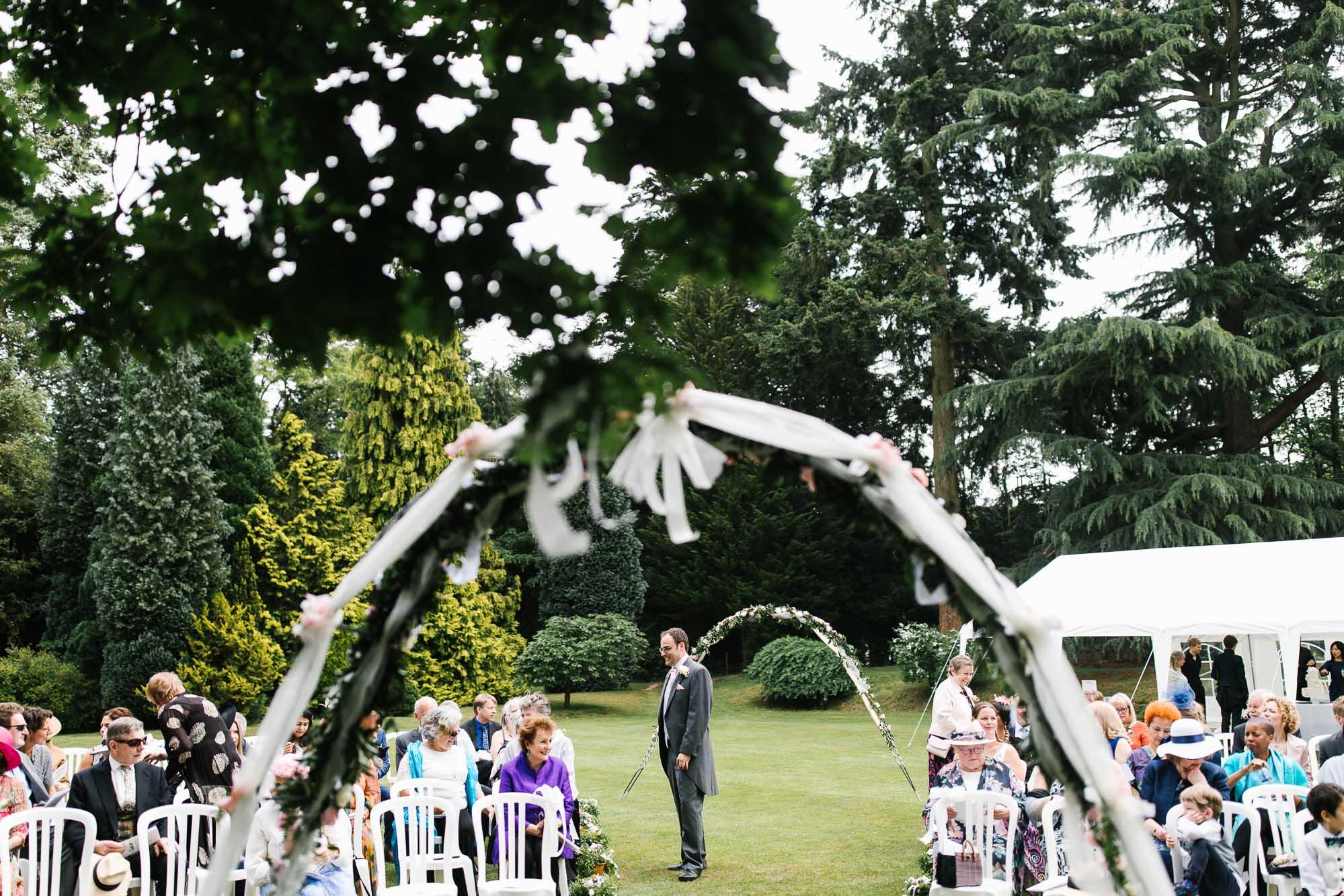 A Surrey Garden Wedding - Natalie and Nick 30