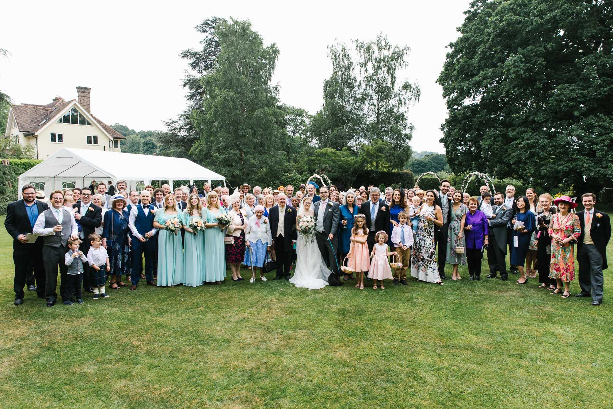 A Surrey Garden Wedding - Natalie and Nick 55