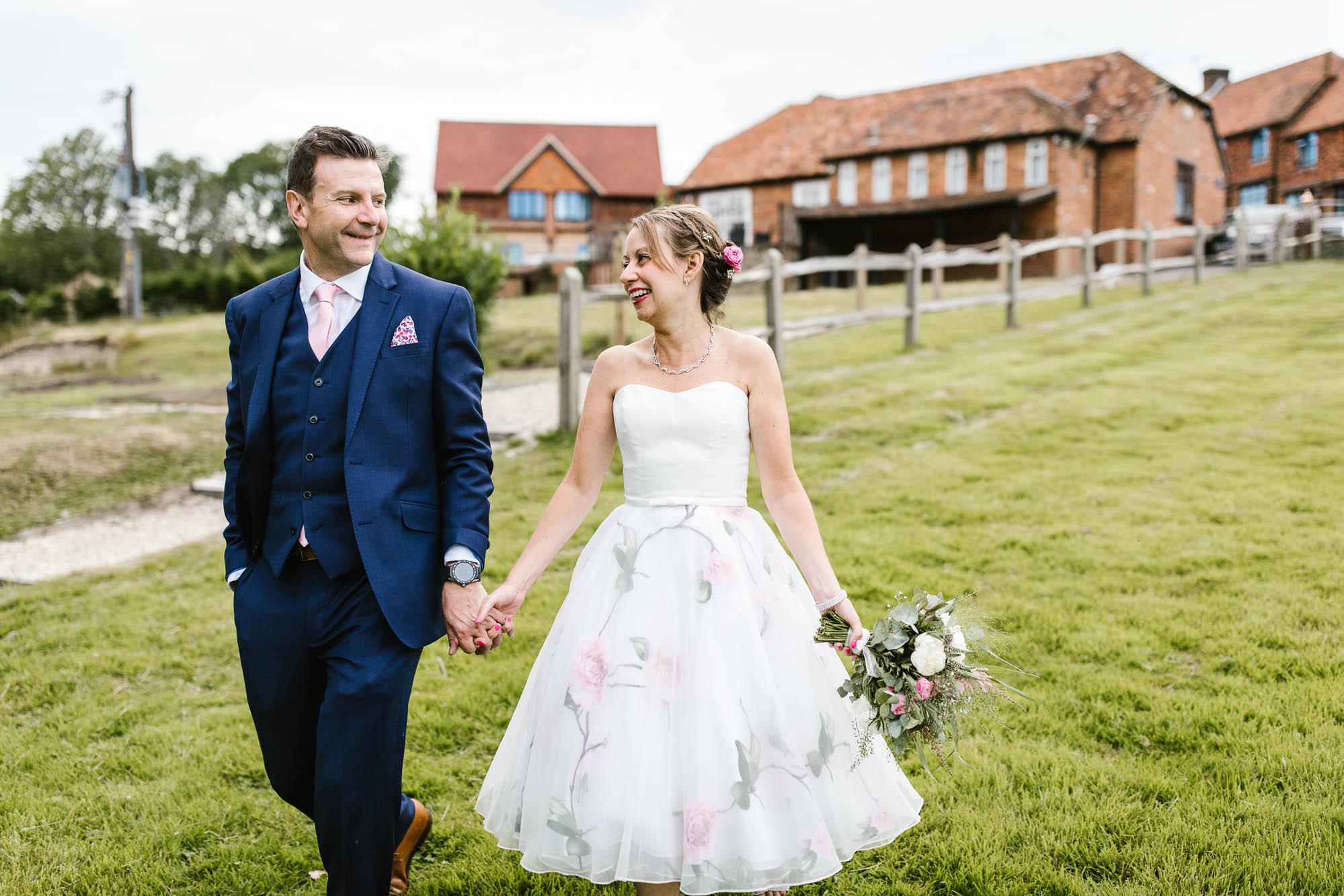 Lythe Hill Hotel Wedding Photography - Gavin and Fiona 15