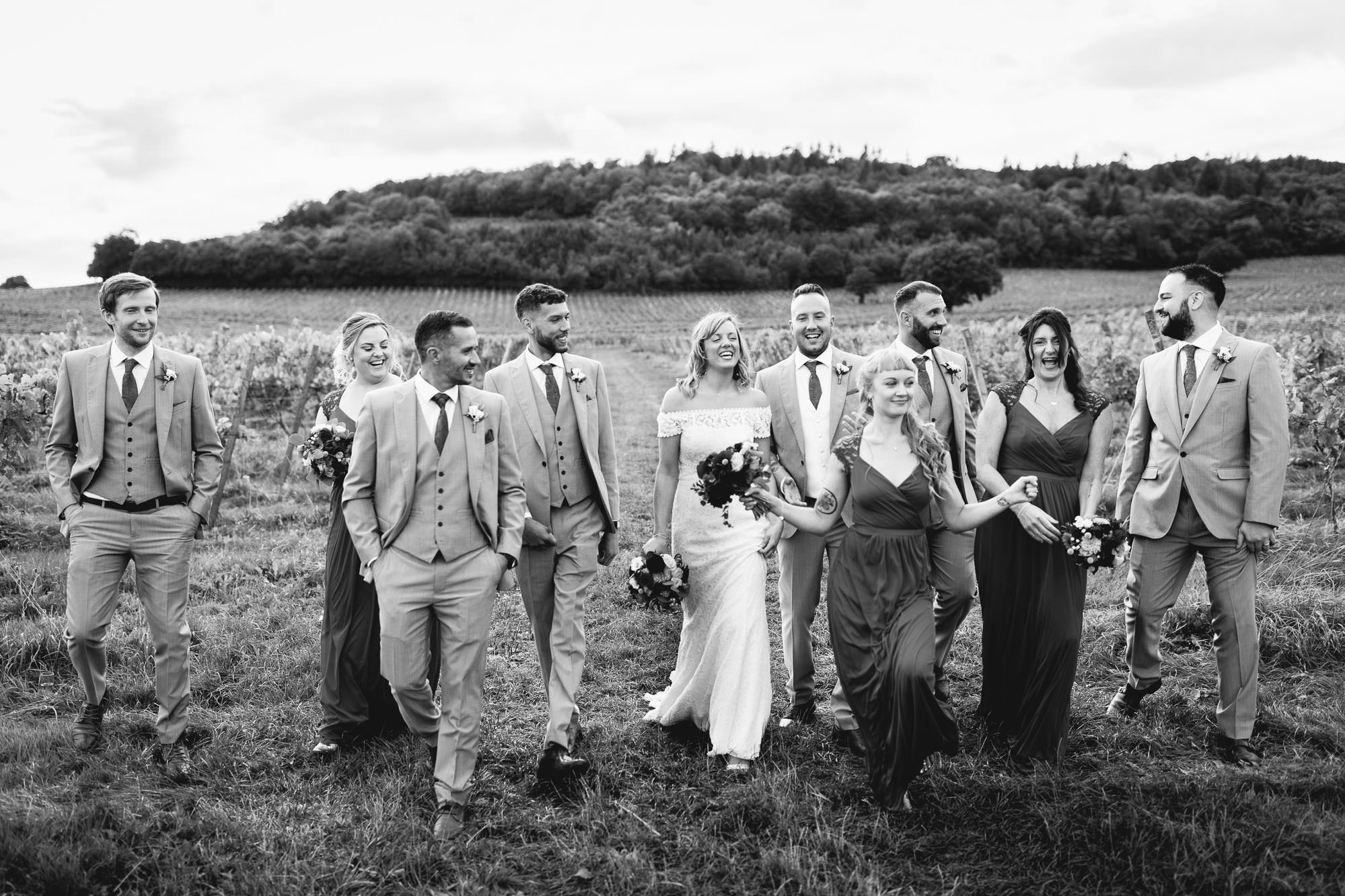 Denbies Wine Estate Wedding Photography - Sian and Dan 28