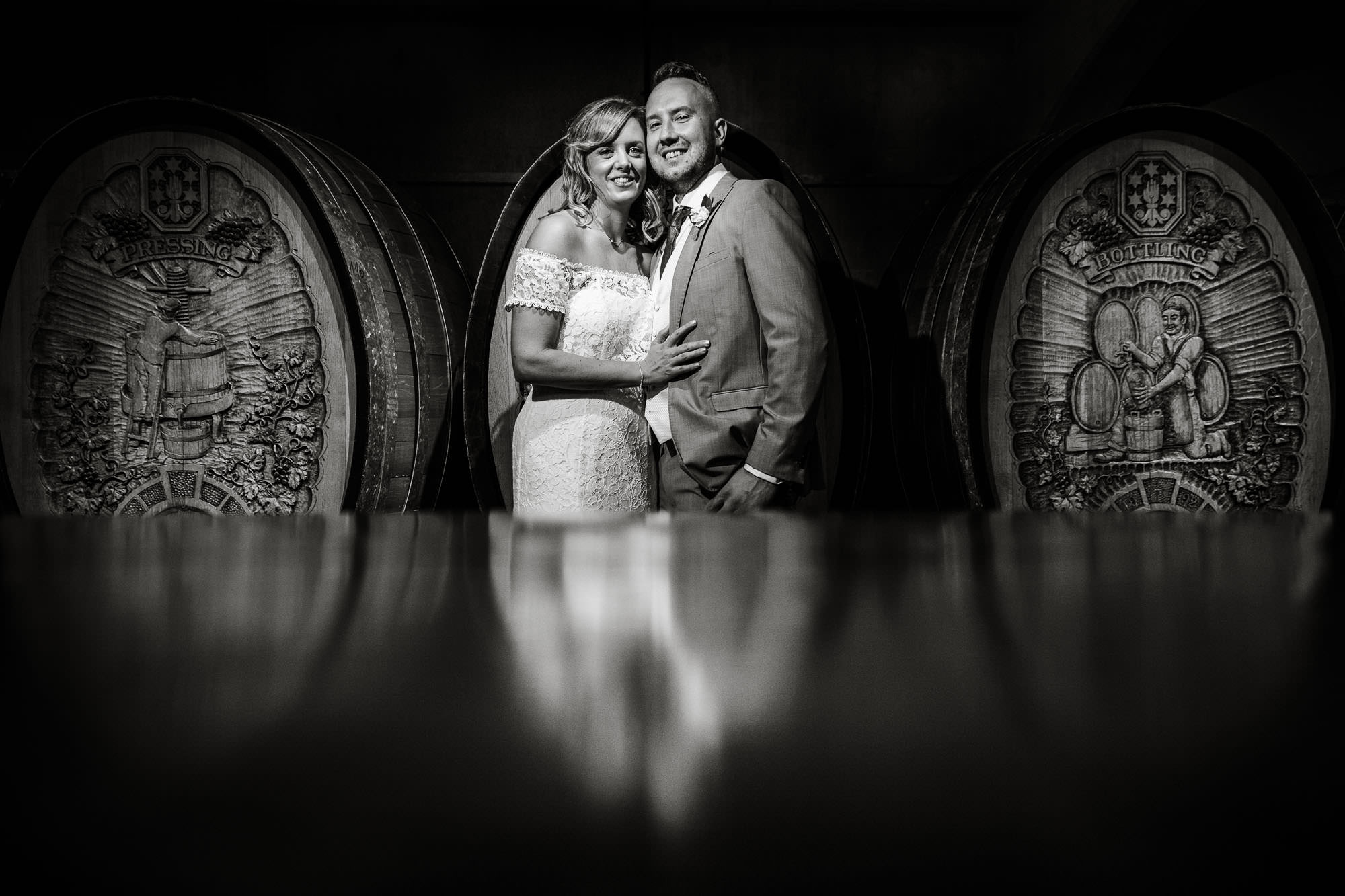 Denbies Wine Estate Wedding Photography - Sian and Dan 48