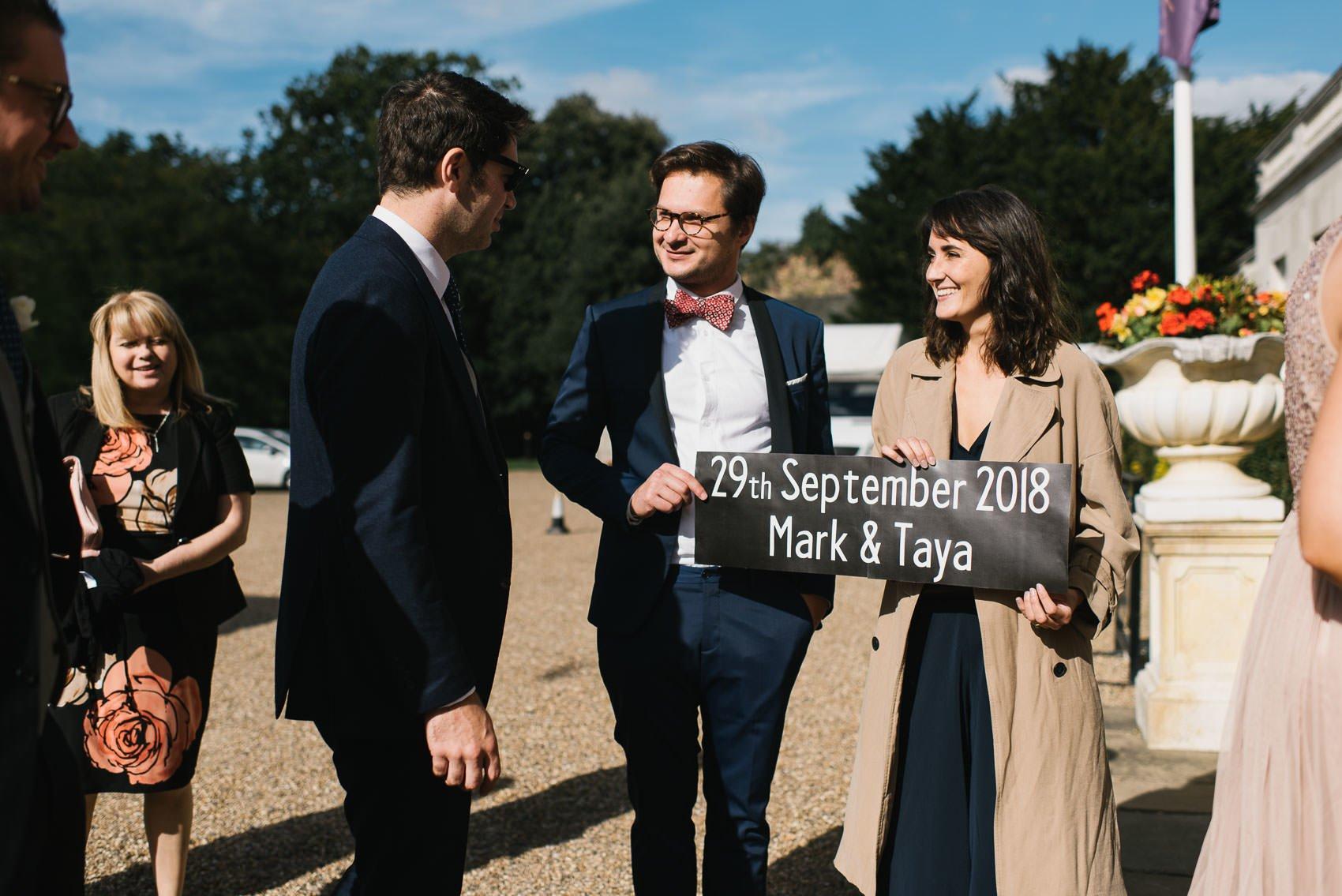 Beautiful Addington Palace Wedding Photography - Mark and Taya 45