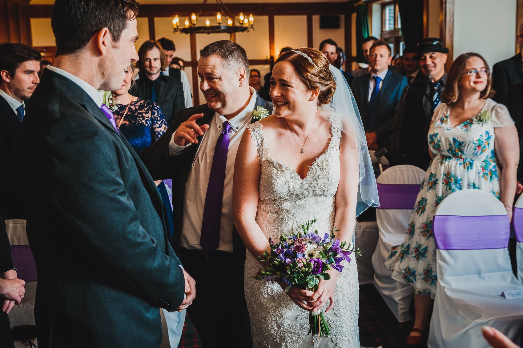 Farnham House Hotel Wedding Photography - James and Lucy 9