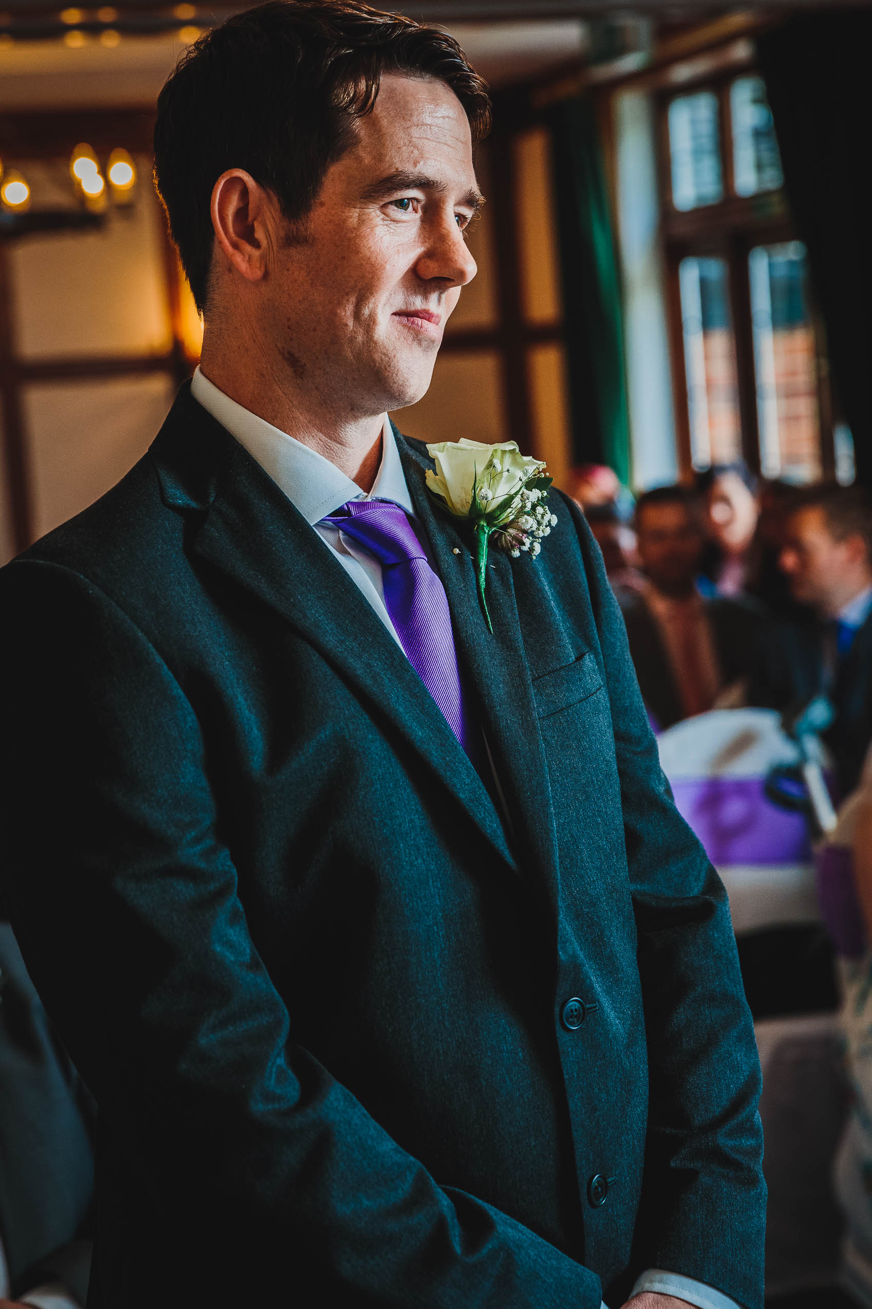 Farnham House Hotel Wedding Photography - James and Lucy 10
