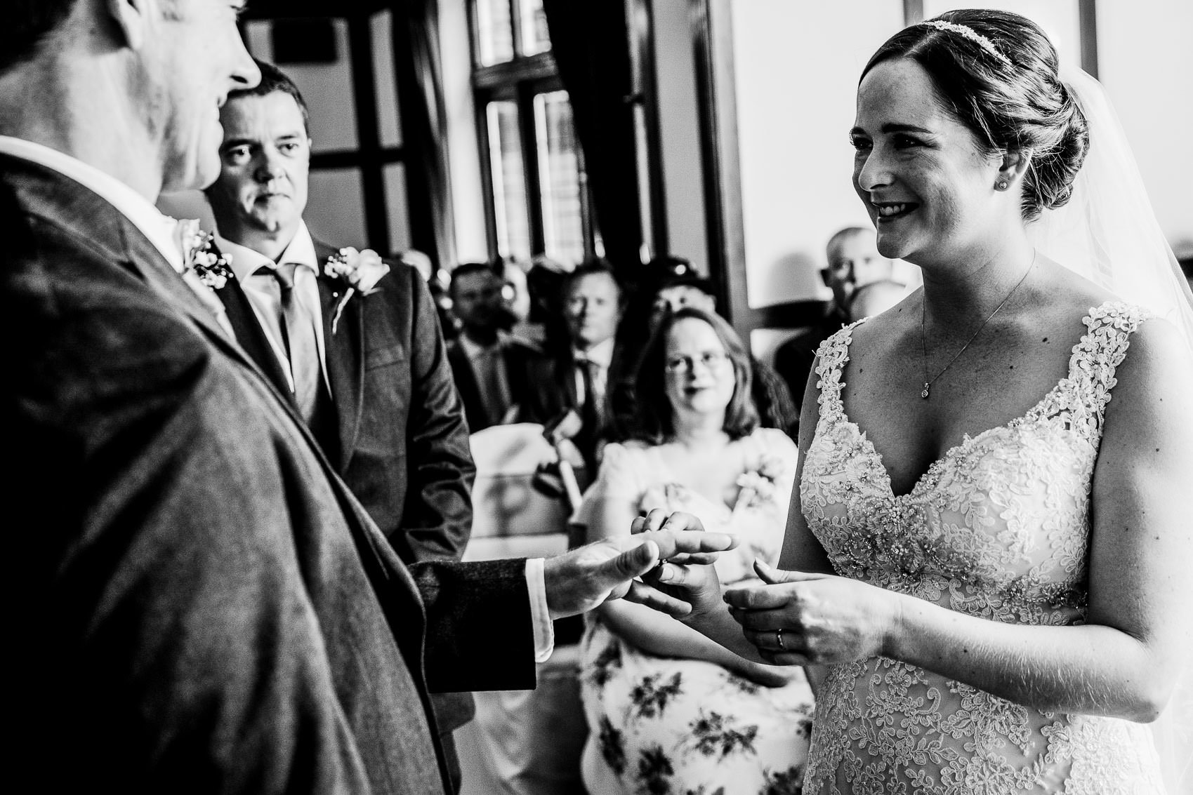 Farnham House Hotel Wedding Photography - James and Lucy 11