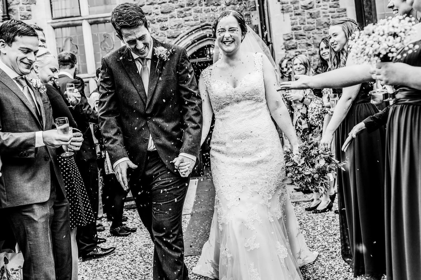Farnham House Hotel Wedding Photography - James and Lucy 17