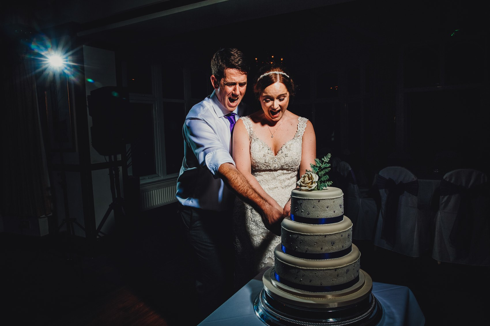Farnham House Hotel Wedding Photography - James and Lucy 30