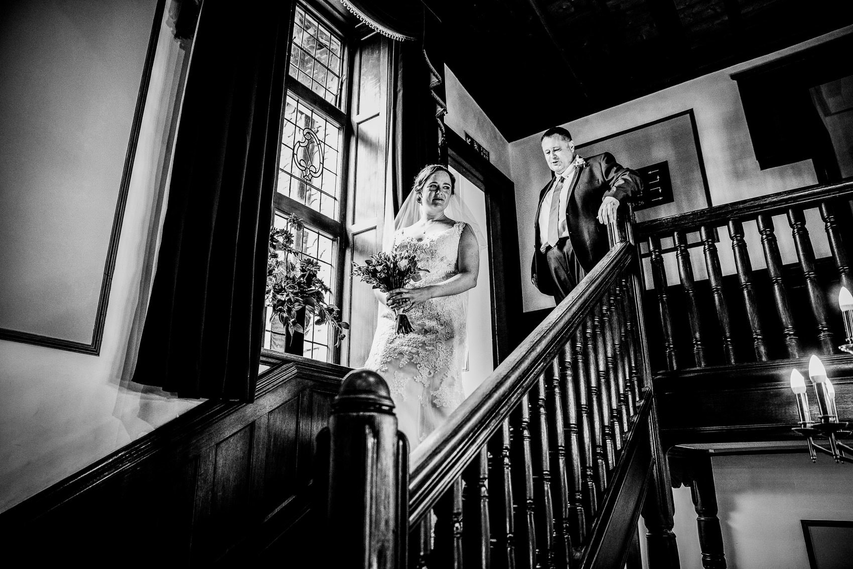 Farnham House Hotel Wedding Photography - James and Lucy 7