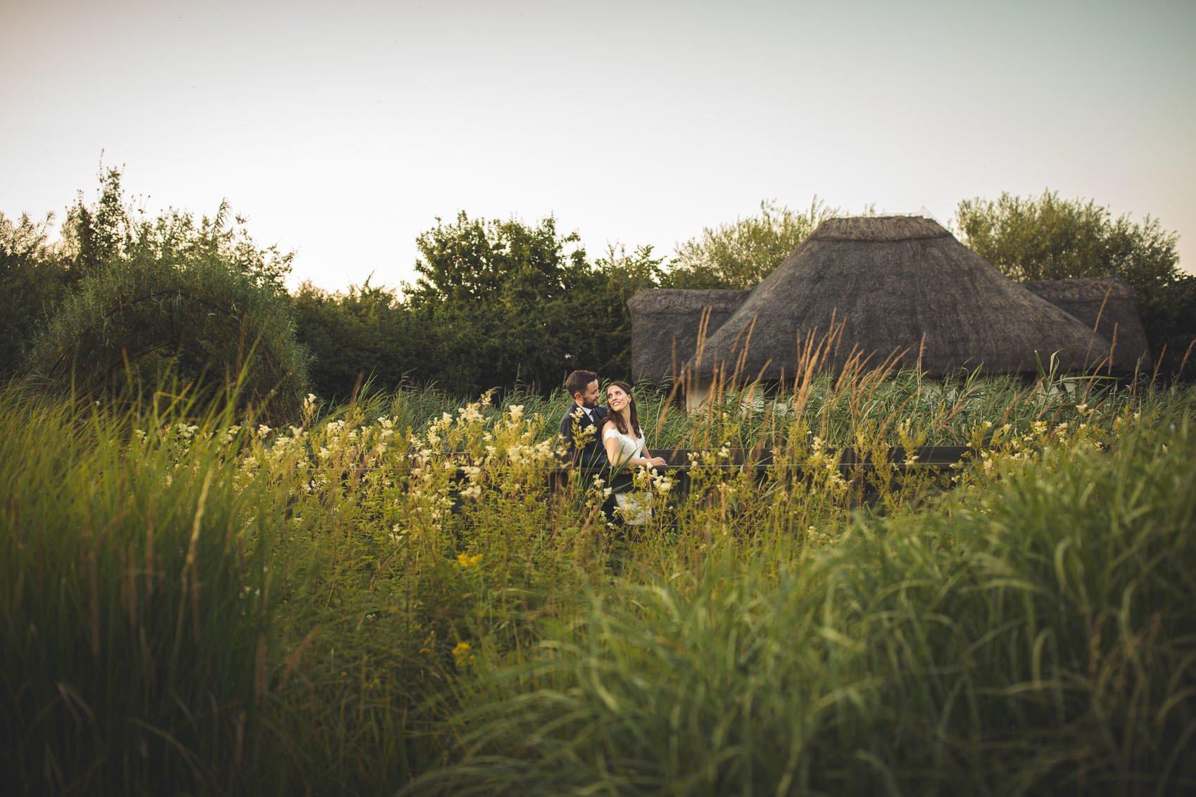 Barnes Wetland Centre wedding photographer