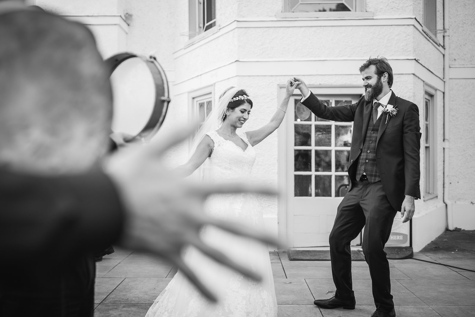 Strawberry Hill House Wedding Photography - Christelle and Nick 32