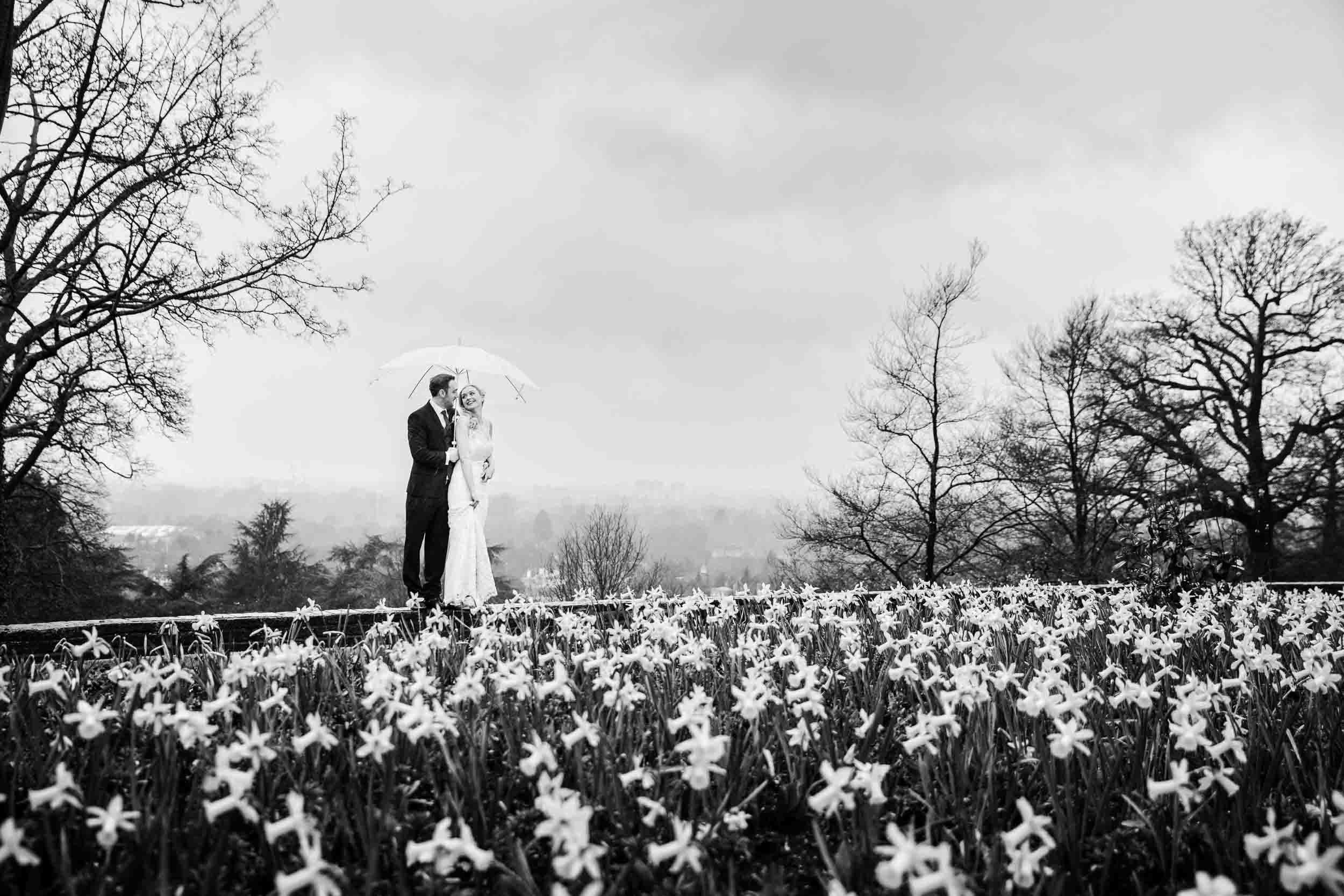 Winter wedding at Pembroke Lodge