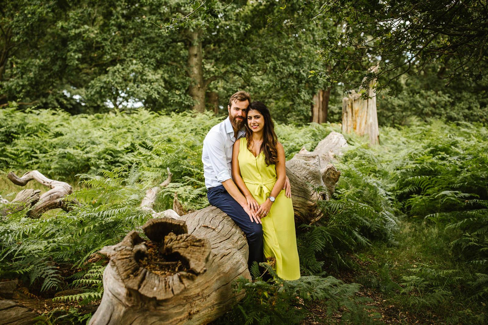 Wedding in Richmond Park